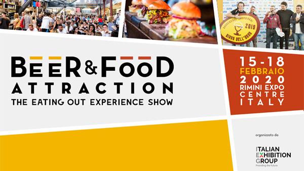 Beer & Food Attraction 2020 fiera Rimini