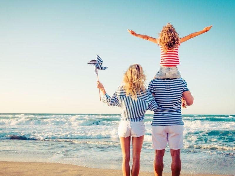 Offerta Famiglie con Bambini direttamente sulla spiaggia di Rimini
